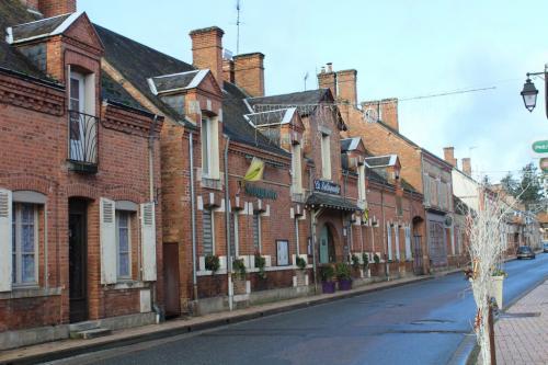 Rue principale de Brinon-sur-Sauldre