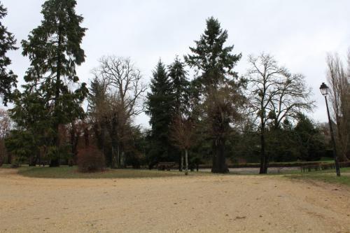 Jardin Anglais et aperçu de l'étang