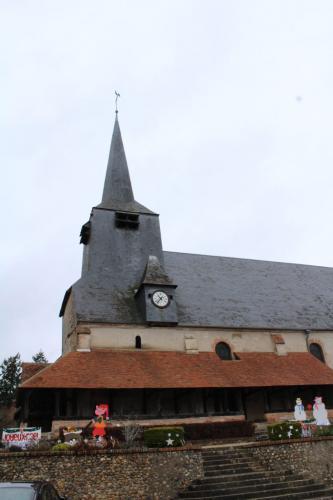 Eglise à caquetoire