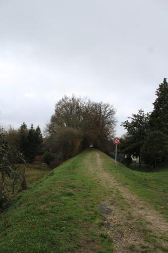 Ancienne voie du tramway